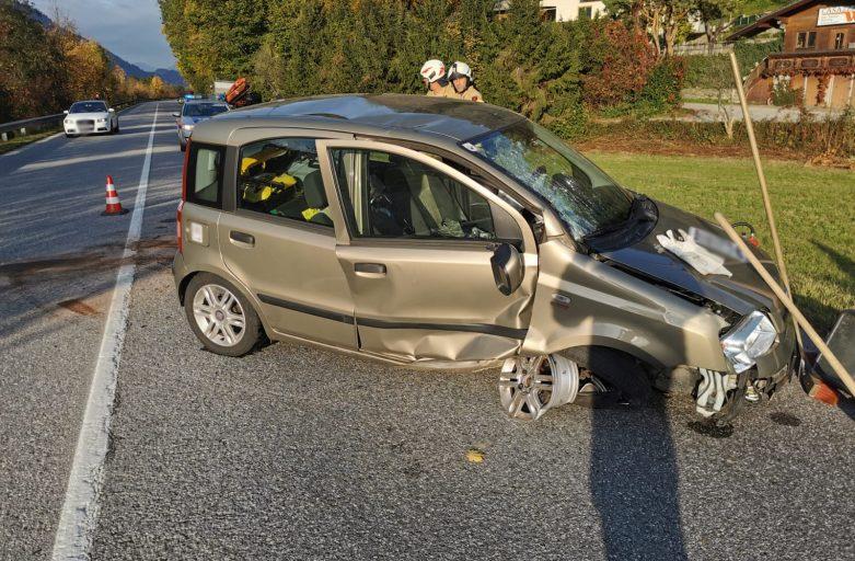 Einsatz Verkehrsunfall B171